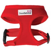 DoodleBone Soft Padded Harness in Red