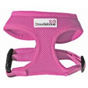 DoodleBone Soft Padded Harness in Pink