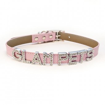 Pink Personalised Collar