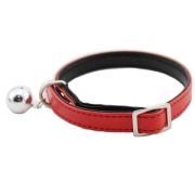 Red Personalised Cat Collar(with safety elastic)